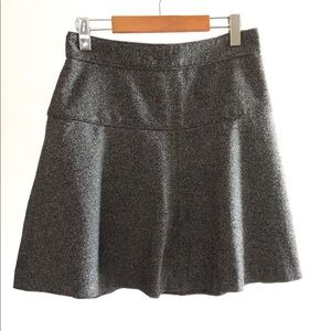 💕 Banana Republic Wool Fit & Flare Gray Skirt 💕